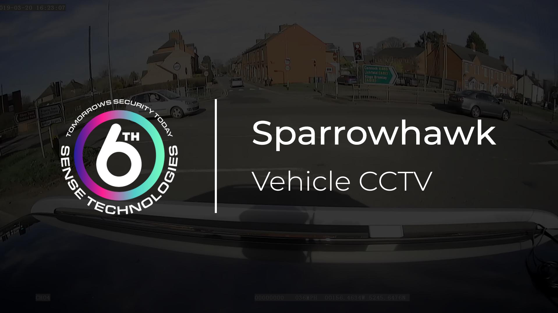 Sparrowhawk Vehicle CCTV